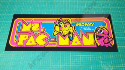 miss pacman ms pac-man marquee