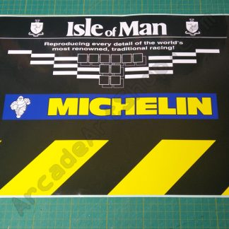 nos manx tt centre step sticker TRR-1502-B