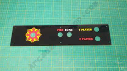 alca bomber perspex control panel overlay