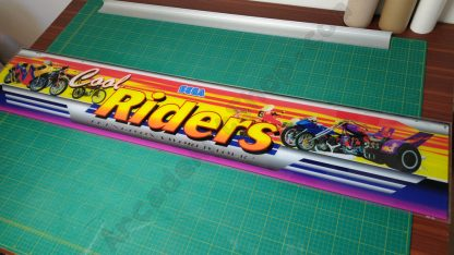 sega cool riders original marquee