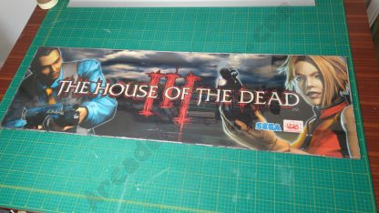 house of the dead 3 original marquee