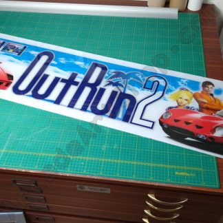 outrun 2 conversion perspex marquee daytona usa