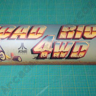 original atari road riot marquee