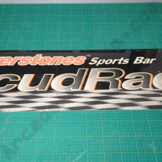 silverstones sports bar scud race marquee