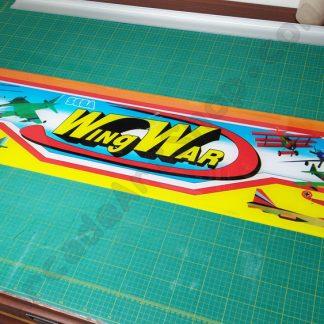 sega wing war original twin marquee