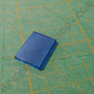 blue lens for sega push button