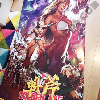 golden axe full side art