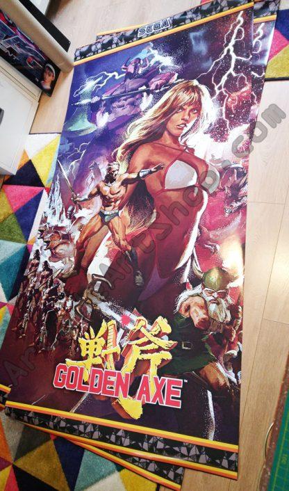golden axe full side art