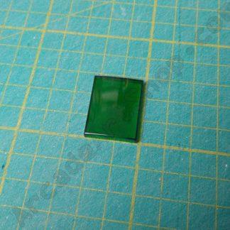 green push button lens sega