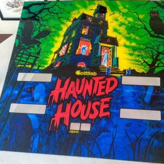haunted house translite pinball