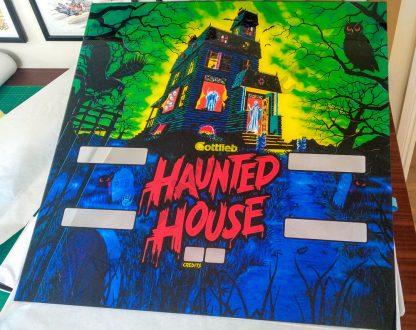 haunted house translite pinball