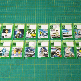 initial-d 3 full set save cards nos