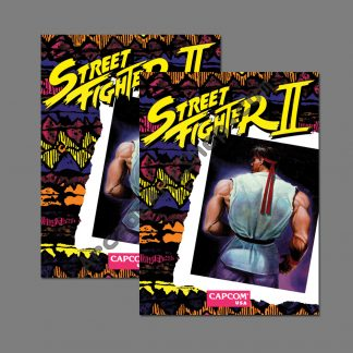 street fighter 2 SF2 side art pair