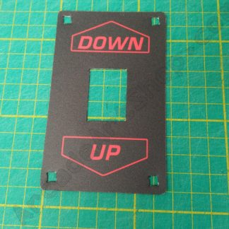 down up gear shifter decal sega etc