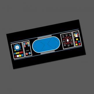Battlezone upright cpo control panel overlay