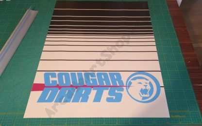 cougar darts kickplate front door