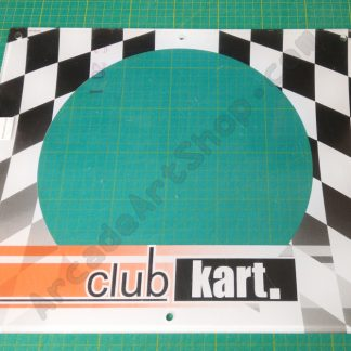 nos club kart speaker sub cover perspex