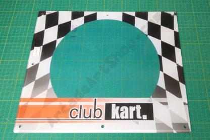 nos club kart speaker sub cover perspex
