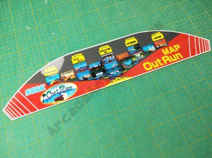 outrun upright dashboard bezel map