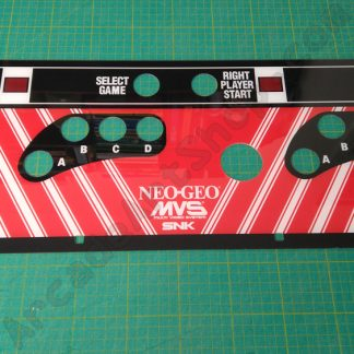 neo geo mvs big red 4-slot cpo plexi