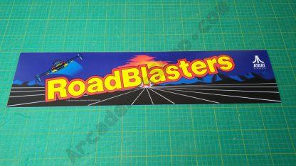 roadblasters atari marquee