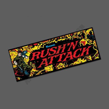 rush n attack marquee