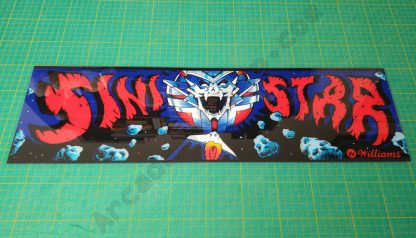 sinistar perspex marquee
