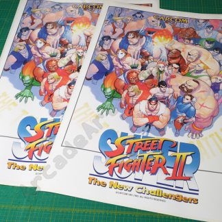 super street fighter 2 side art SSF2