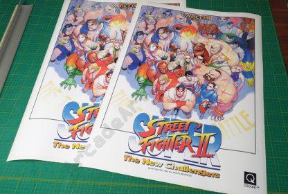 super street fighter 2 side art SSF2