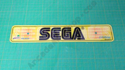 outrun 2 sp dlx rear licence plate decal 2367UK