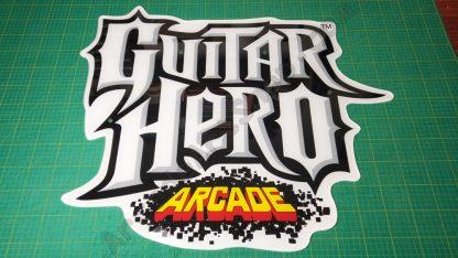 Guitar Hero arcade marquee