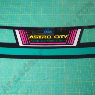 sega astro city marquee