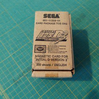 nos initial-d 3 save card box