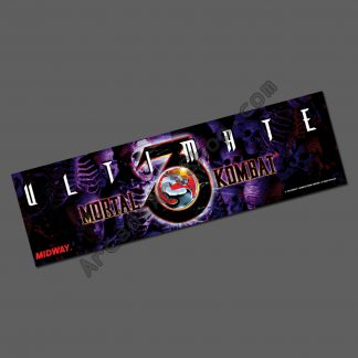 ultimate mortal kombat 3 marquee UMK3