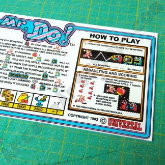 universal mr do control panel instructions plexi
