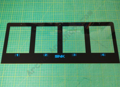 SNK SC19-4 marquee holder plexi