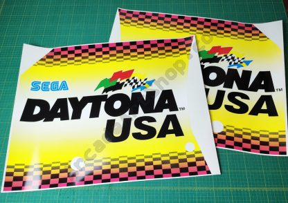 Daytona USA side art pair