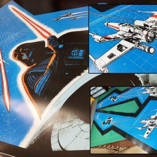 star wars cockpit side art set