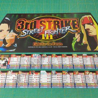 street fighter III 3rd strike artwork set