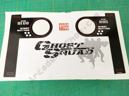 ghost squad control panel decal CTF-2006UK