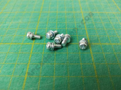 m4x10mm pan head screw with washer