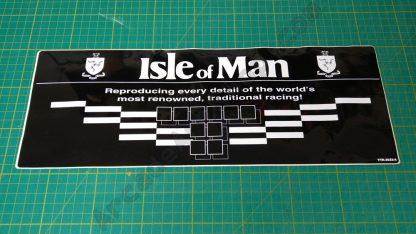 nos manx tt sticker TTR-3033-A