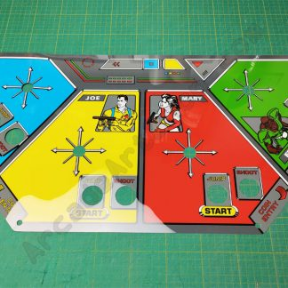 sega quartet control panel overlay cpo
