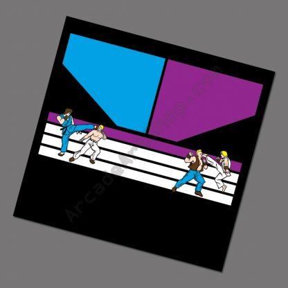 electrocoin street fighter blue purple cpo
