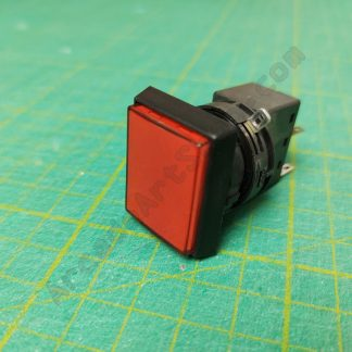 red illuminated push button sega