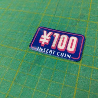 capcom impress 100 yen insert coin