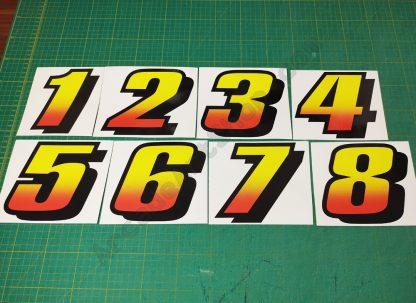 daytona usa seat numbers set 1 thu 8
