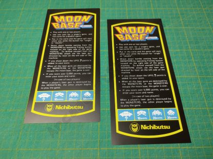 moon base cocktail instruction cards