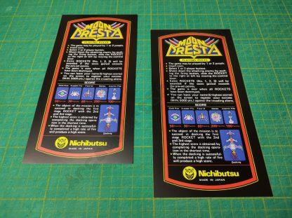 moon cresta cocktail instruction cards