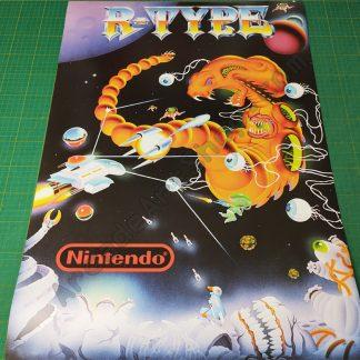 r-type large arcade poster